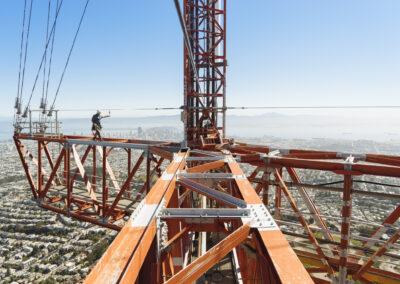 Petzl Technical Partner - Gravitec - Tower shot
