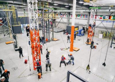 Petzl Technical Partner - Gravitec - Indoor training facility